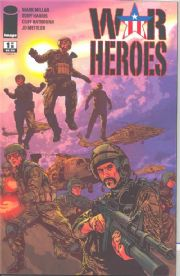 War Heroes #1 Cover A (2008) Mark Millar Image comic book